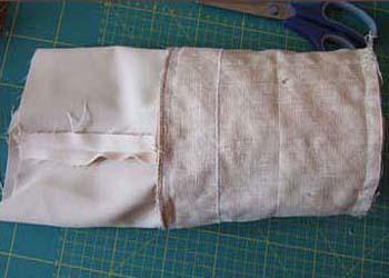 Сухарницы из ткани своими руками