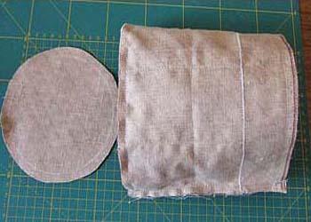 шкатулка из ткани своими руками 8