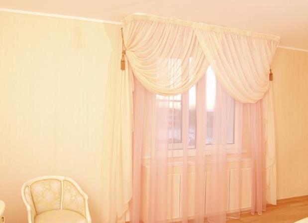Шторы вуаль для спальни дизайн
