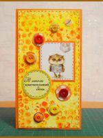 Скрапбукинг-открытки с днем рождения