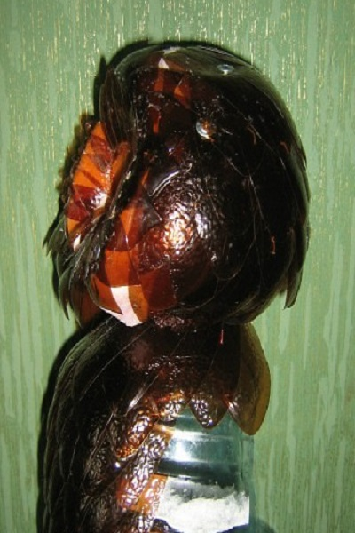 Поделки из пластиковых бутылок пошагово сова пошагово