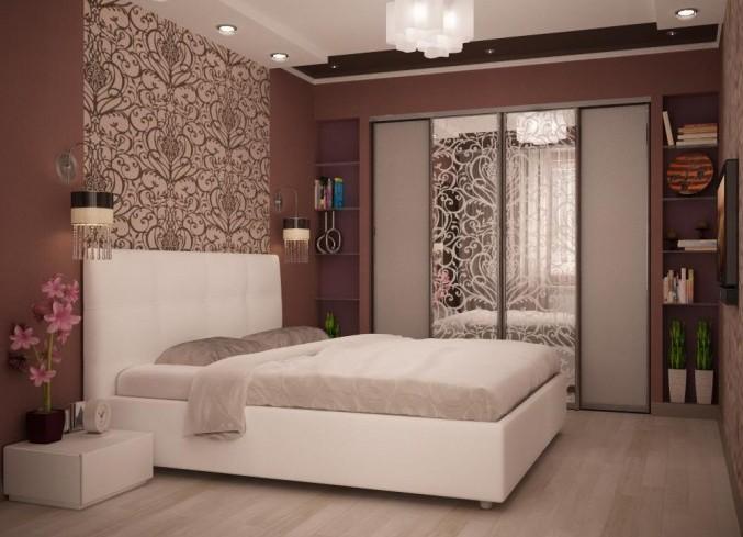 Ремонт спальни 16 кв м с
