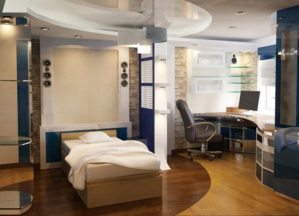 Кабинет спальня дизайн фото