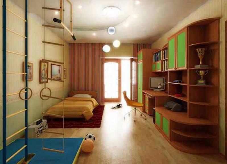 как подобрать в детскую комнату мебель. дизайн детской комнаты, фото интерьера