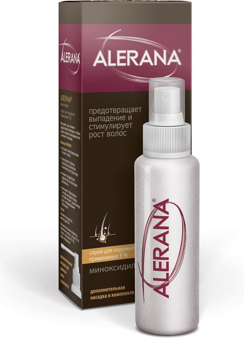 Спрей для волос Alerana для наружного применения 5