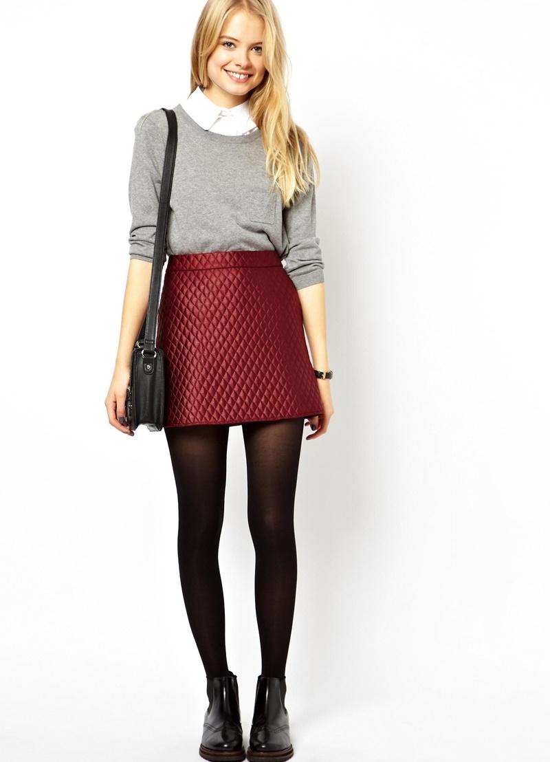 Купить стеганую юбку