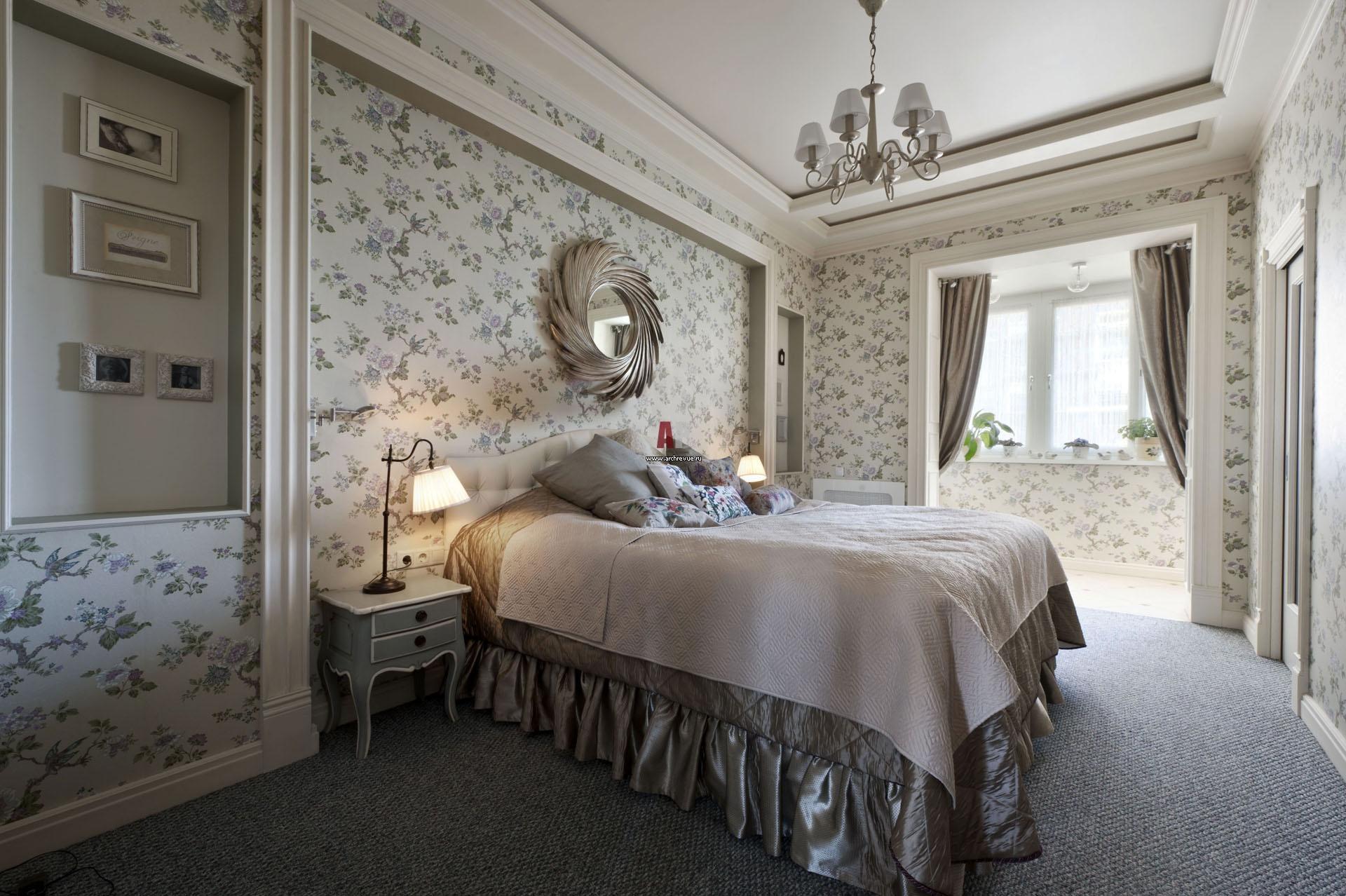 Спальни фото дизайн прованс