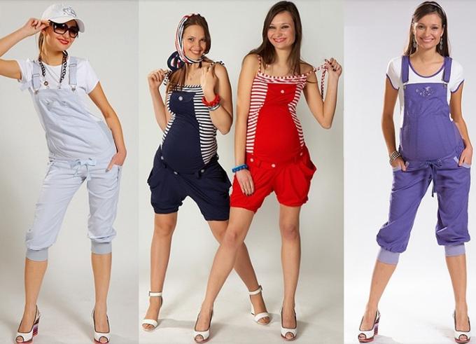 стильная одежда для беременных9