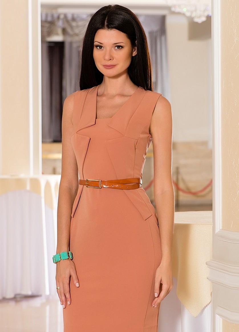 Стильное деловое платье 8