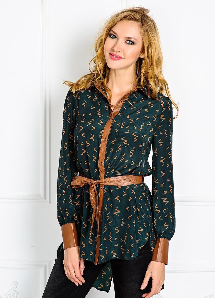 Блузки из шелка 2015