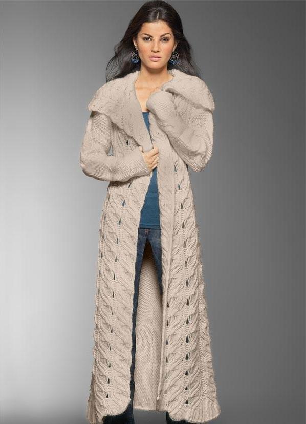 Женское пальто и кардиган спицами или крючком - Наша Пряжа. вакцинация прот