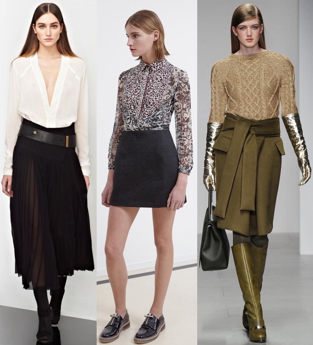 Мода Юбки Осень 2015