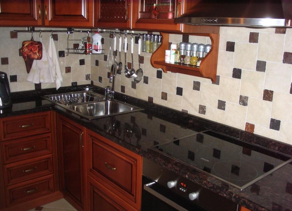 Столешница на кухню какую выбрать раковина из камня Улица Скобелевская
