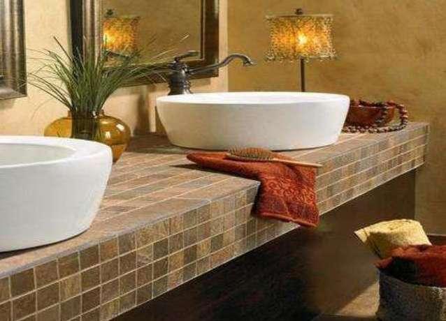 Столешница из плитки своими руками в ванную