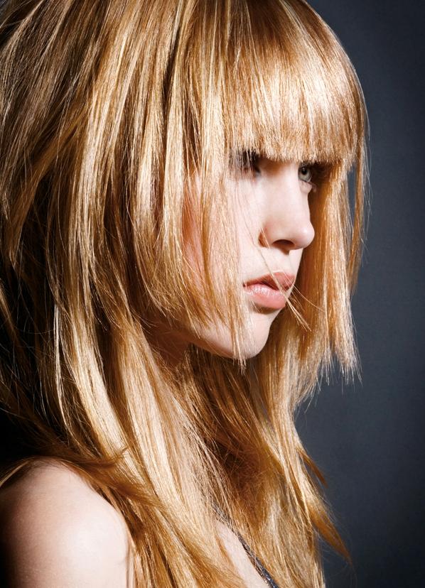 Стрижки на длинные пышные волосы - 2