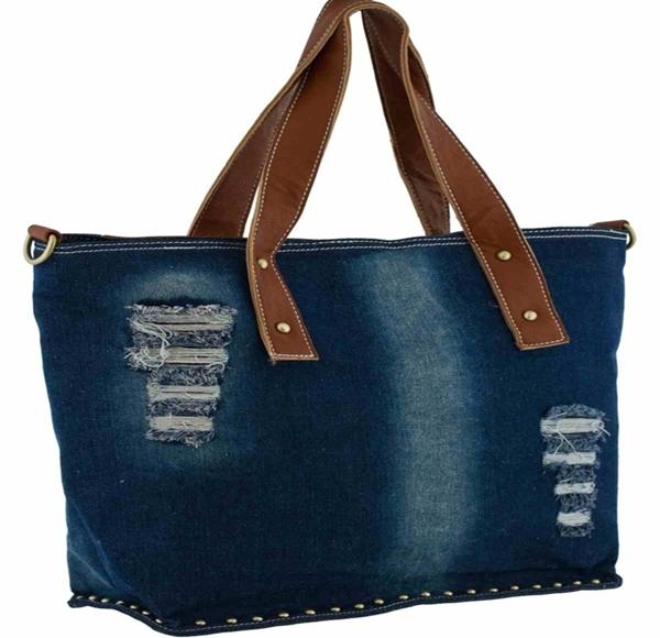 Женская сумка из джинсов 174