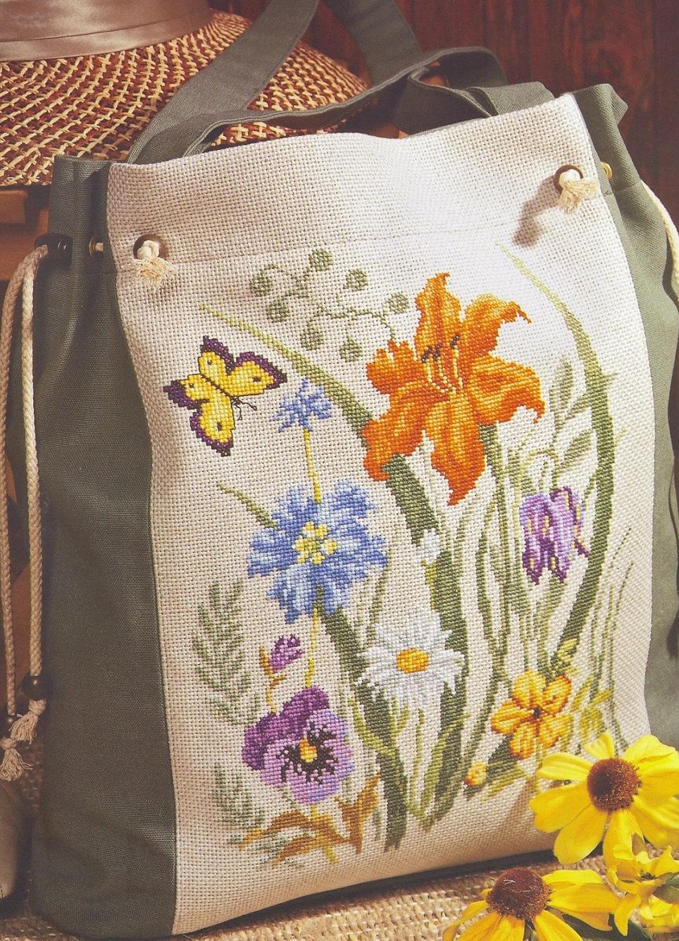 Фото сумок с вышивкой