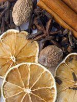 Сушеные апельсины для декора