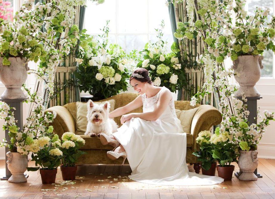 В английском стиле свадьба в