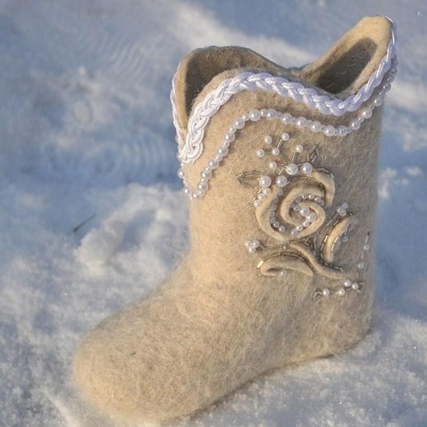 Wedding Saloon :: зимняя свадебная обувь - Свадебные платья и
