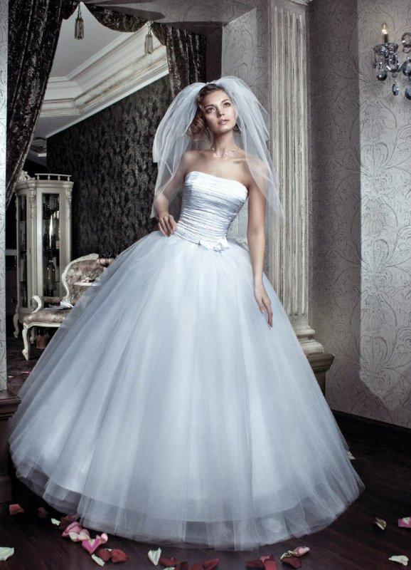 Пышные свадебные платья из фатина 2