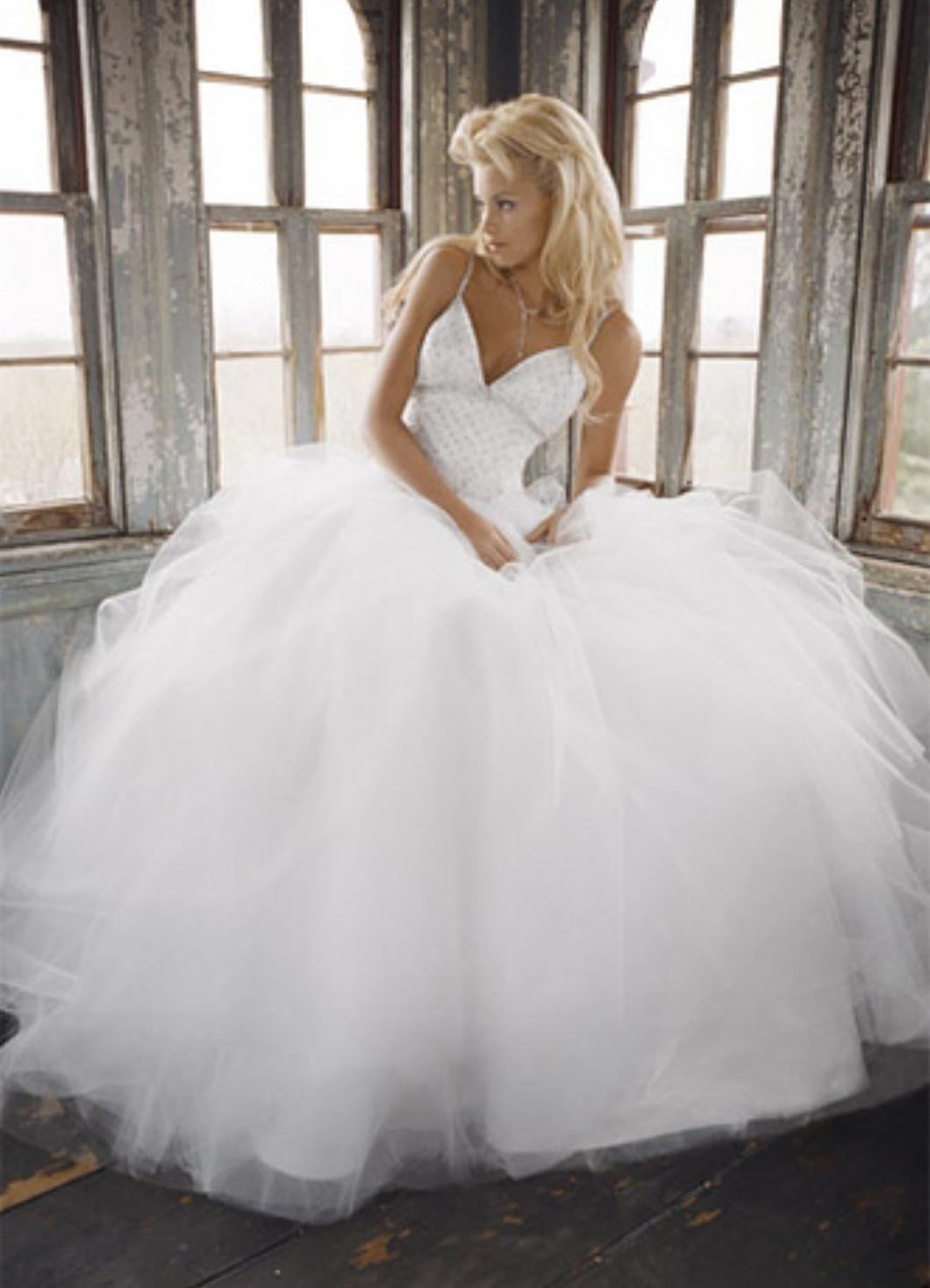 Самые пышные свадебные платья