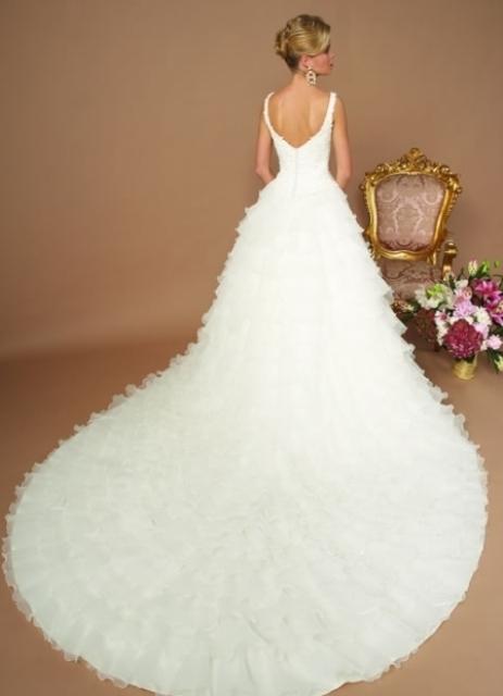 Ediz свадебные платья русалка с длинным