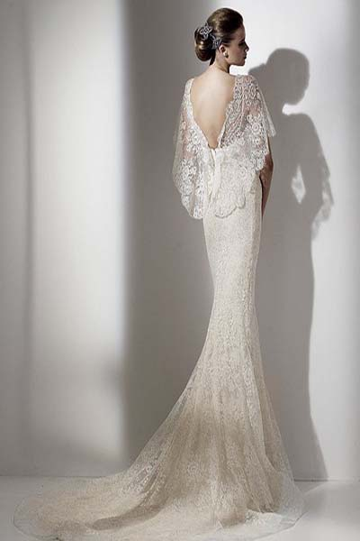 Свадебные платья с ажурной спиной