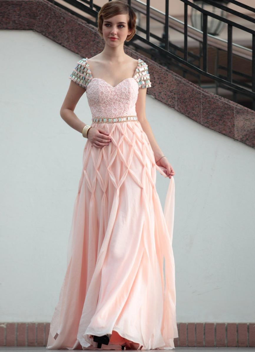 Свадебные платья бело-розовые фото