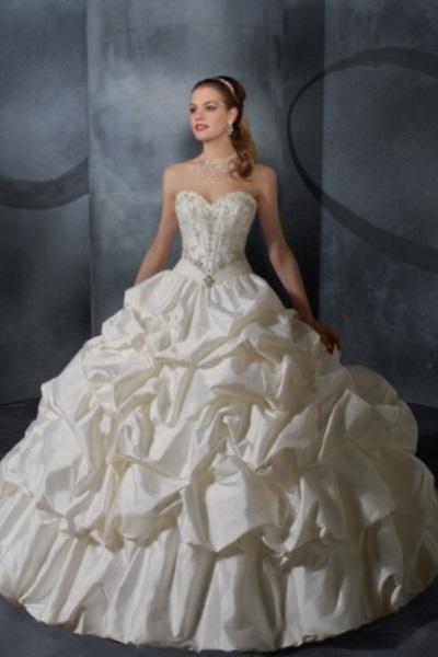 Свадебное платье в испанском стиле 5