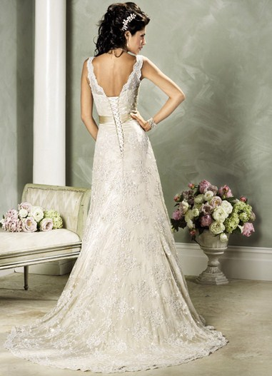 Свадебные платья во французском стиле
