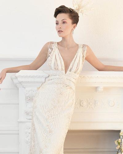 Свадебное платья в стиле чикаго