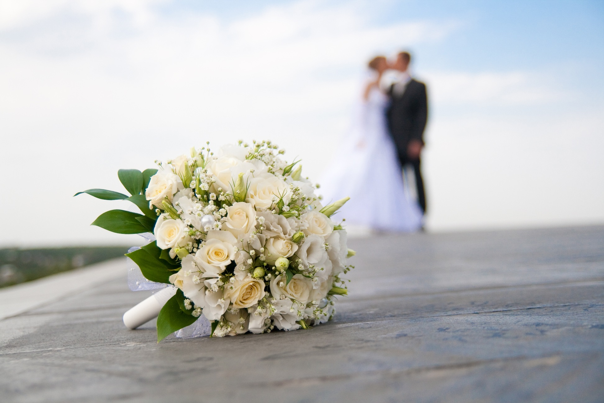 свадебные букеты фото, букет невесты