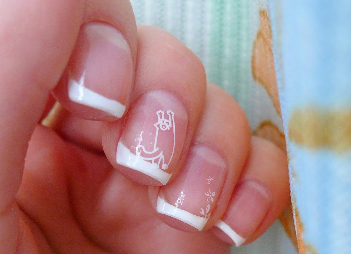 Маникюр на свадьбу невесте короткие ногти