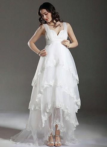 Свадебные платья 2013 для беременных 2