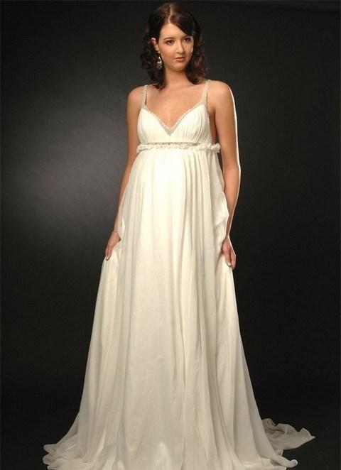 Свадебные платья 2013 для беременных 7