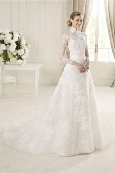 Свадебное платье от pronovia