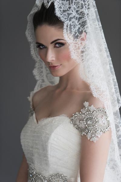 фаты свадебные фото