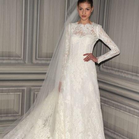 Свадебные платья с длинным рукавом 8