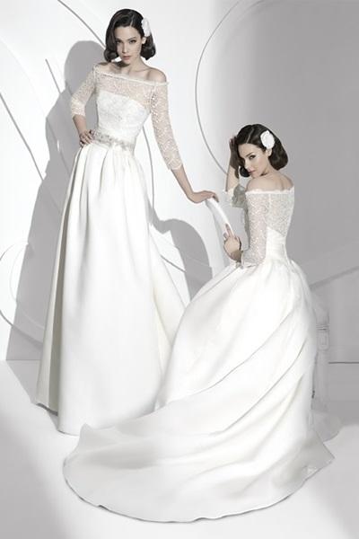 Wedding Saloon :: Свадебное платье с красной лентой, фото