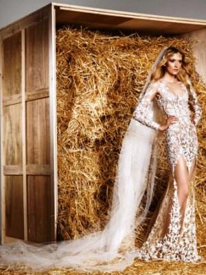 Воздушные свадебные платья для полных