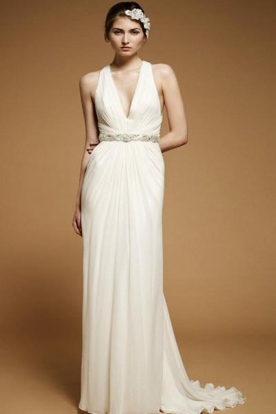 Короткие пышные свадебные платья. Стиль ретро