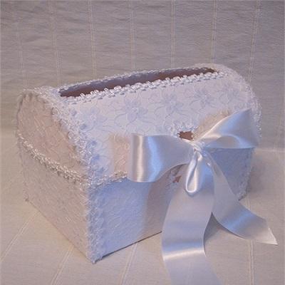 Свадебный сундук своими руками из коробки