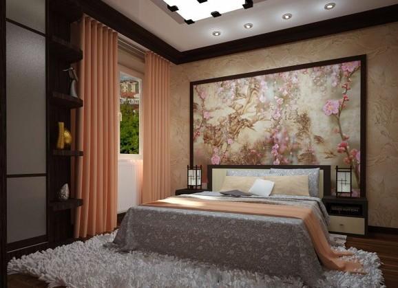 фото светильник в спальню