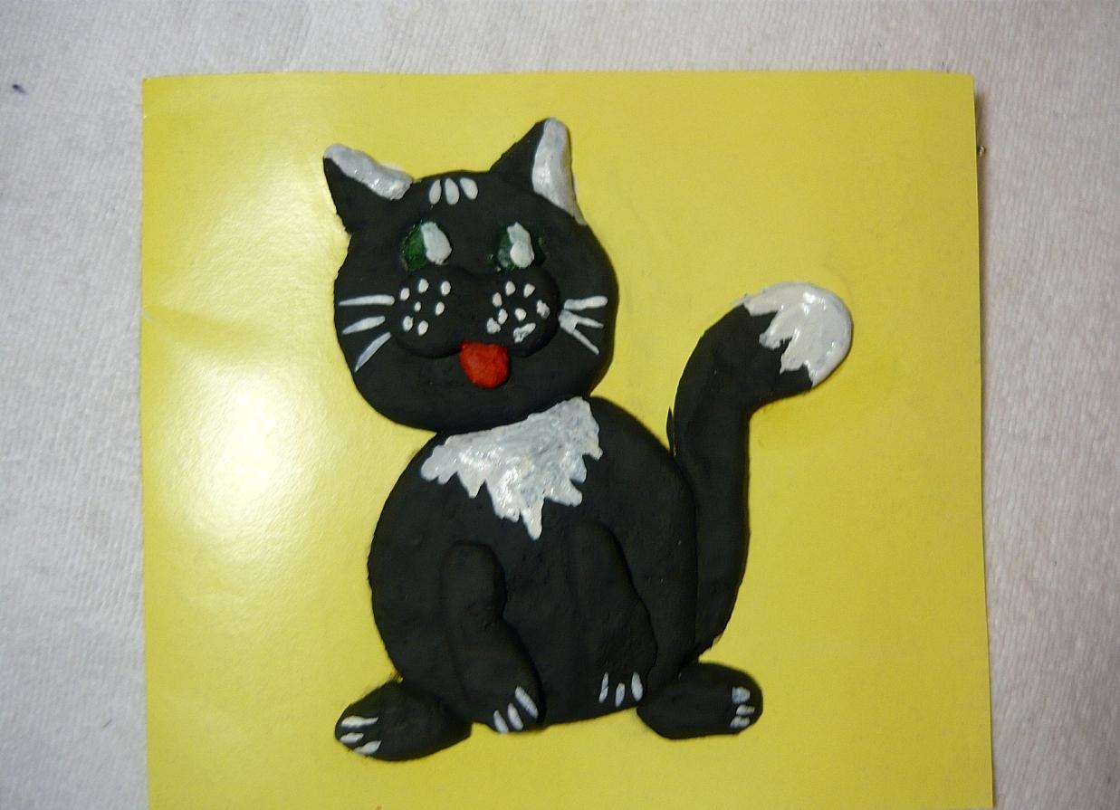 Поделки из кошек соленого теста 852