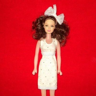 Как сшить платье для кукол барби без липучек 53