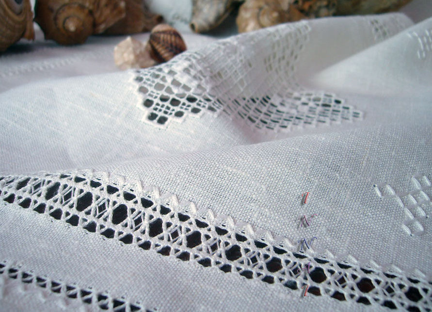 Один из красивых узорных видов вышивки
