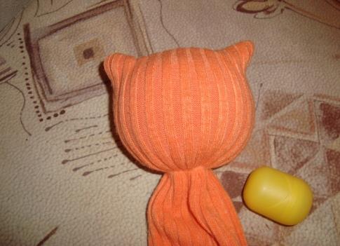Как сделать мягкую игрушку кота своими руками