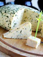 Сыр с зеленью - рецепт