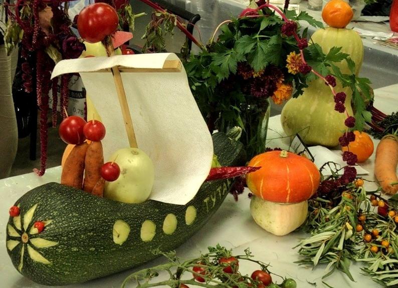 Как можно сделать поделку из овощей своими руками